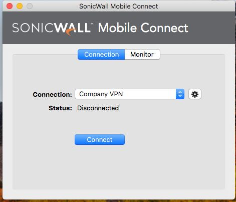 Mobile Connect MAC Connect